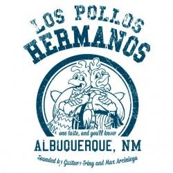 Shirt university Pollos Hermanos White sublimation
