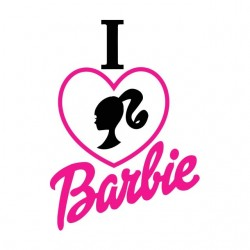 tee shirt love barbie...
