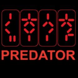 Predator t-shirt the black...