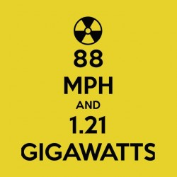 gigawatts shirt back to the future sublimation