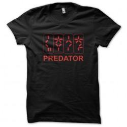 Predator t-shirt the black sublimation counter