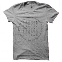 tee shirt stargate alphabet...