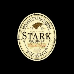 tee shirt stark biere game of thrones sublimation
