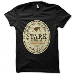 tee shirt stark biere game...