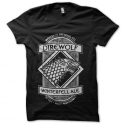 tee shirt direwolf winterfell biere sublimation