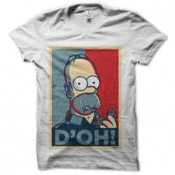 shirt homer simpson doh sublimation