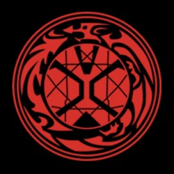 T-shirt Rider wizard symbol...
