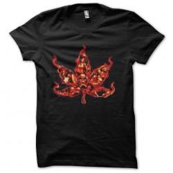 tee shirt ganja dead sublimation