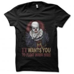 shirt he came back clown...