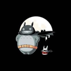 Totoro Super Hero Sublimation Shirt