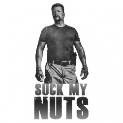 tee shirt suck my nuts  sublimation