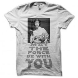 tee shirt leia hommage...
