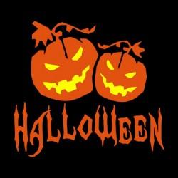 Halloween black sublimation shirt
