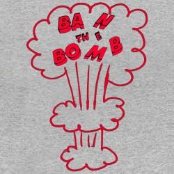 sublimation gray ban the bomb shirt