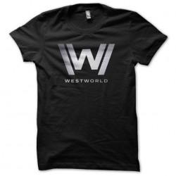 shirt Westworld logo chrome...