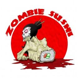 tee shirt zombie sushi...