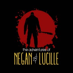 shirt the adventures of lucille walking dead sublimation