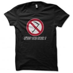 tee shirt c'est pas faux!...