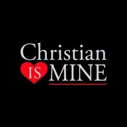 shirt christian is mine shades of gray sublimation
