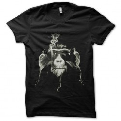 monkey shirt that smokes...