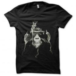 tee shirt singe qui fume...