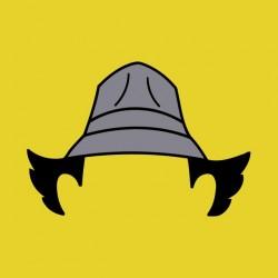 tee shirt inspecteur gadget coupe et chapeau sublimation