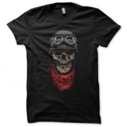 Black skull biker...