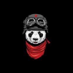 Panda biker black...