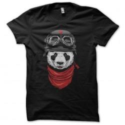Tee shirt Panda biker  sublimation