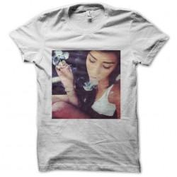 tee shirt ganja girl sublimation