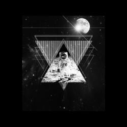 man shirt on the moon astonaute sublimation