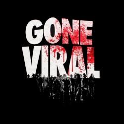 shirt walking dead gone viral sublimation