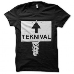 teknival shirt by sublimation