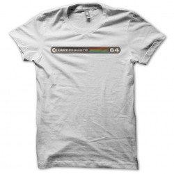 Commodore 64 white sublimation t-shirt