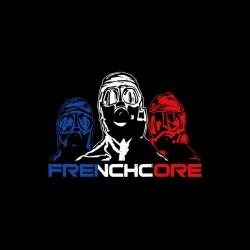 frenchcore black sublimation shirt