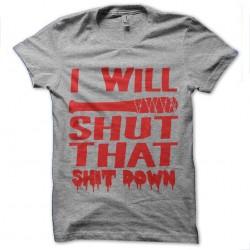 shirt walking dead negan...