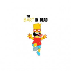 shirt bart in the dead...