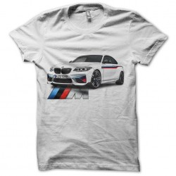 shirt BMW M2 white sublimation