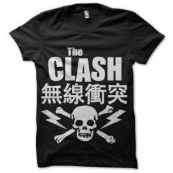tee shirt the clash punk...