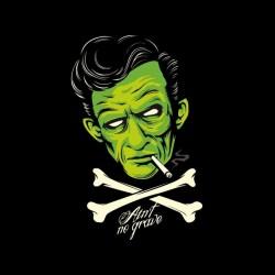 tee shirt vampires vs zombis sublimation