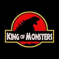 King of monsters Godzilla Sublimation T-Shirt