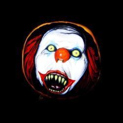 tee shirt it le clown malefique ca sublimation