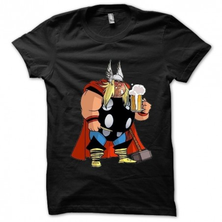 Thor Beer sublimation black t-shirt