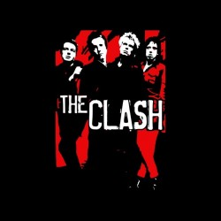 tee shirt the clash special trash punk sublimation