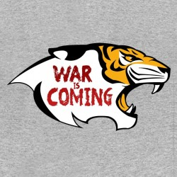 tee shirt walking dead war is coming gris sublimation