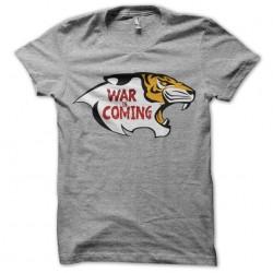 walking dead shirt war is...