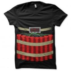 tee shirt ceinture explosive sublimation