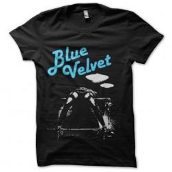 shirt blue velvet frame...