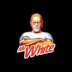 clean gentleman's shirt is mister clean white heinzenberg sublimation