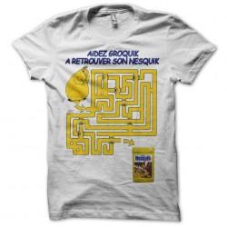 shirt groquik nesquik sublimation
